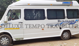11+1 seater deluxe 1x1 tempo traveller in delhi