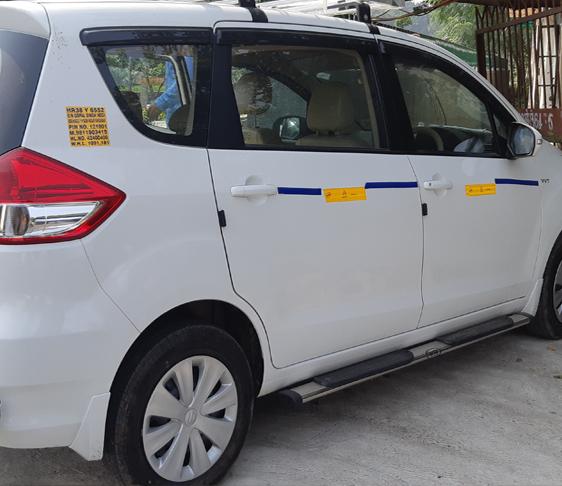 8 Seater Maruti Suzuki Ertiga Car Taxi Hire In Delhi