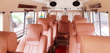 12 seater deluxe 1x1 tempo traveller